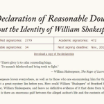 Read the Declaration of Reasonable Doubt