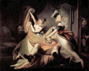 """Falstaff in the Washbasket"" by Henry Fuseli,1792"