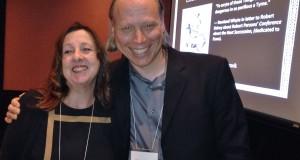 Cheryl Eagan-Donovan and Mark Anderson at 2013 Toronto convention