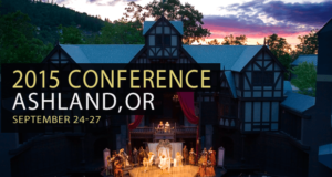 SOF Conference, Ashland, Oregon, Sept. 24-27, 2015