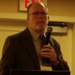 Chris Carolan spoke on authorship allusions, 1750-1830.