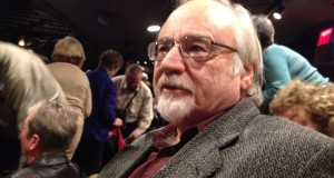 "SOF Trustee Don Rubin at ""Authoship Appeal"" in Stratford, Ontario, Oct. 4, 2014"