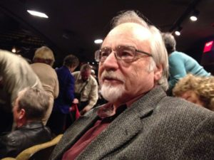 """SOF Trustee Don Rubin at """"Authoship Appeal"""" in Stratford, Ontario, Oct. 4, 2014"""