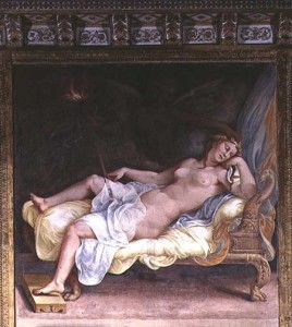 Dream of Hecuba painting