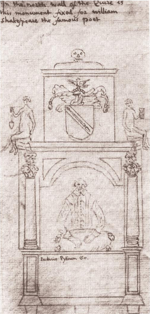 Fig. 2 Dugdale's drawing c. 1634
