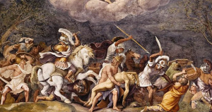 Ajax Defends Patroclus's Corpse