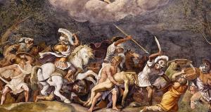 De Vere's Lucrece and Romano's Sala di Troia