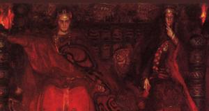 Claudius and Gertrude