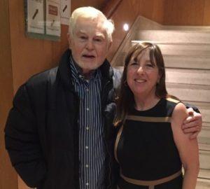 Sir Derek Jacobi and filmmaker Cheryl Eagan-Donovan