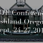 SOF Ashland conference call-for-papers deadline June 1, 2015