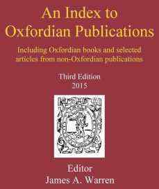 INDEX TO OXFORDIAN PUBLICATIONS (Cover thumbnail, resized_2)