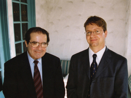 Justice Scalia and Professor Wildenthal