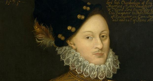Edward de Vere, 1575