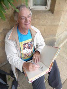 Piet-Hein Zijlm is a retired teacher and artist in the Netherlands.