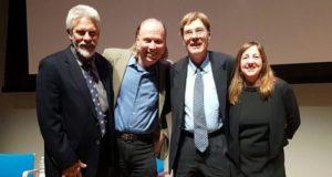 Panelists Earl Showerman, Mark Anderson, Tom Regnier; Filmmaker Cheryl Eagan-Donovan