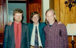 George Anderson was chair of the committee that hosted our 1996 conference in Minneapolis. Pictured at the conference (l. to r.) are Charles Burford, Roger Stritmatter, and Mark Anderson.