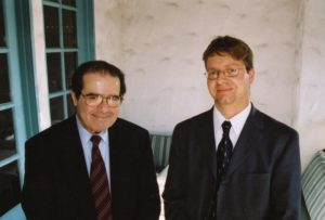Justice Antonin Scalia and Prof. Bryan Wildenthal