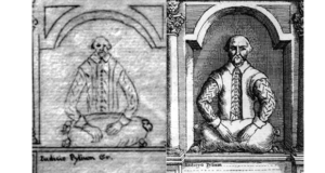 Stratford Monument sketch and engraving