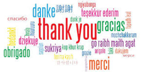 Thank you.languages