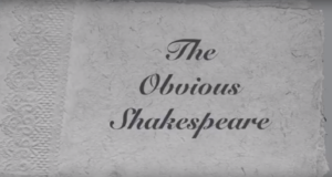 The Obvious Shakespeare