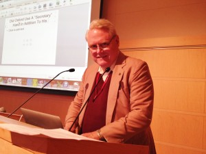 Ron Hess presented at SOF conference in Madison.